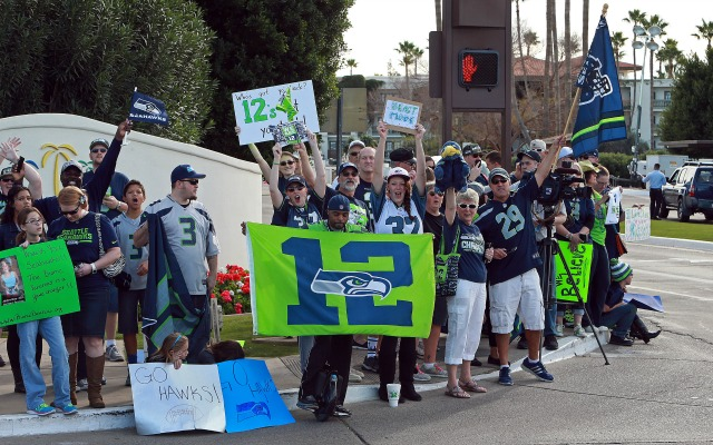 Seahawks' '12th man' license expires next year