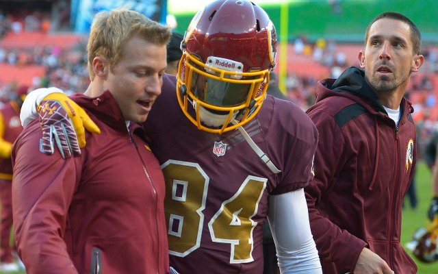 Sean McVay, left, is the new Washington offensive coordinator. (Getty Images)
