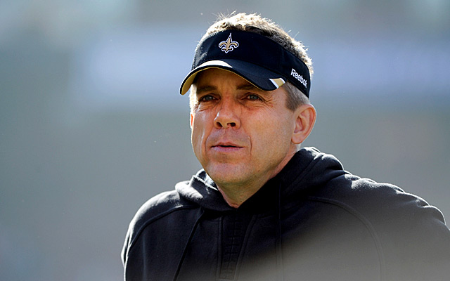 Sean Payton is 'fired up' to get back to work with the Saints. (USATSI)