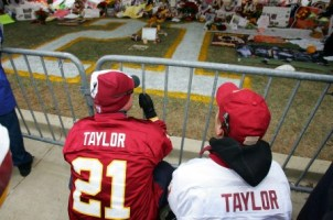 S. Taylor being remembered.