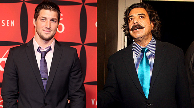 It's still doubtful the guy on the right, Jacksonville owner Shad Khan, wants TimTebo. (USATSI)