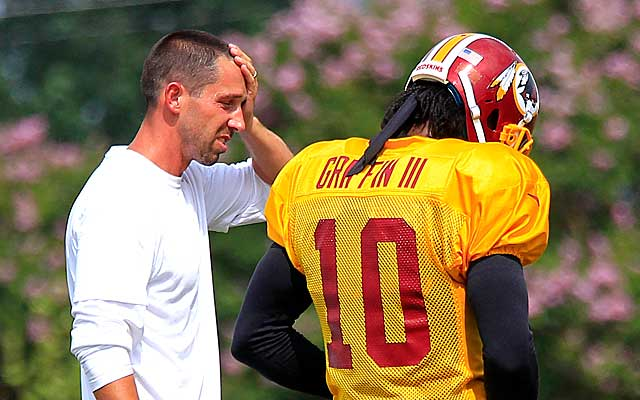 Kyle Shanahan could land as Baltimore's next offensive coordinator. (USATSI)