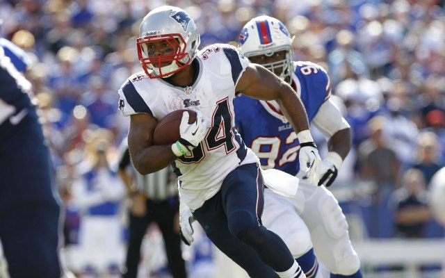 Reportedly, we won't be seeing Shane Vereen for a few weeks. (USATSI)