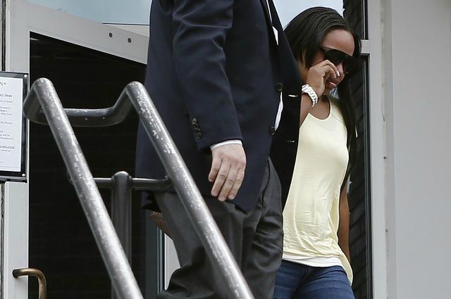 Shayanna Jenkins has been indicted for perjury. (USATSI)