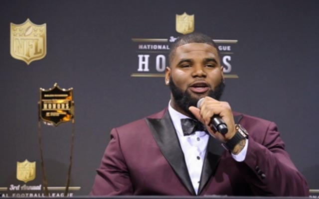 Sheldon Richardson is your NFL defensive rookie of the year. (CBSSports.com/Ryan Wilson)