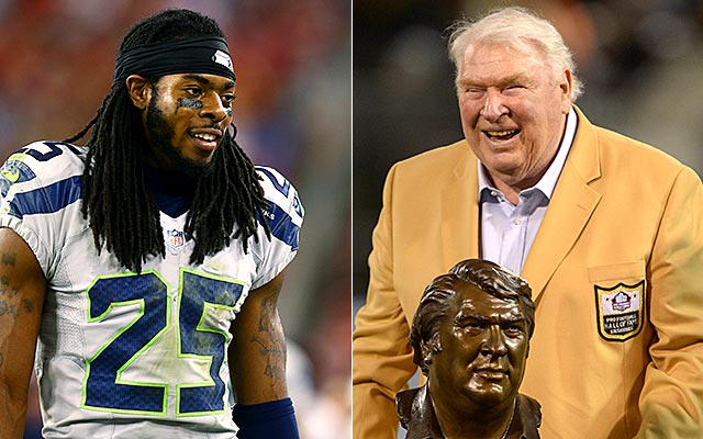 Richard Sherman's rant will be a storyline next week too. (USATSI)