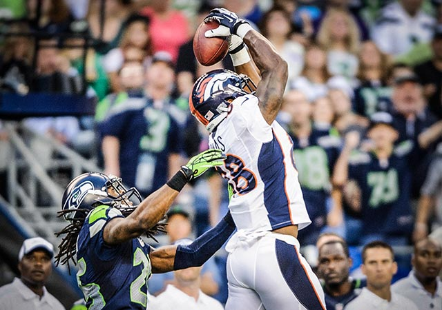 Demaryius Thomas would consider it an honor to face Richard Sherman. (USATSI)