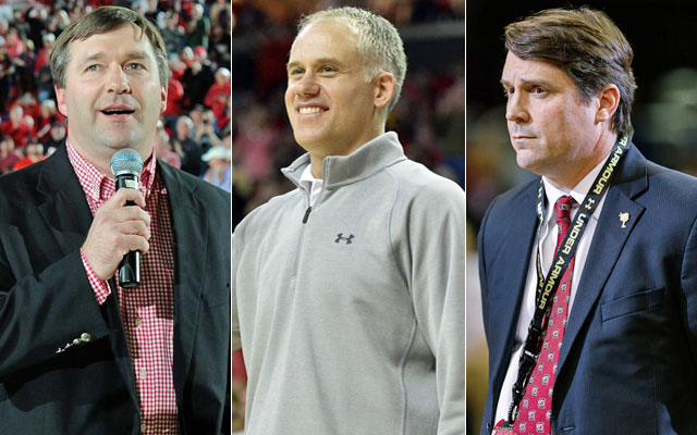 Search firms were used to hire Smart, Durkin and Muschamp. (USATSI)
