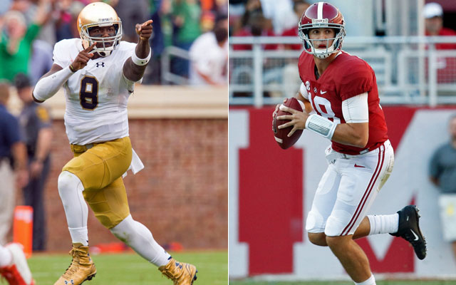 There are plenty of QB battles to be waged this spring. (USATSI)