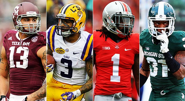 Mike Evans, Odell Beckham, Bradley Roby and Darqueze Dennard all make sense for the Steelers. (USATSI)