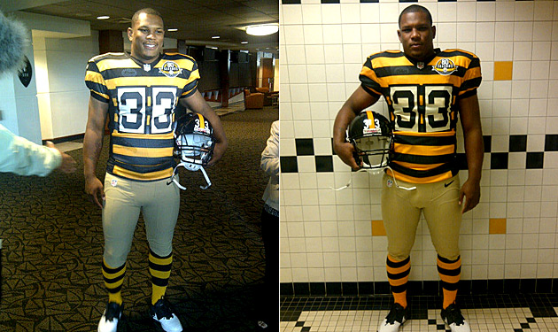 Steelers 80th Anniversary uniform