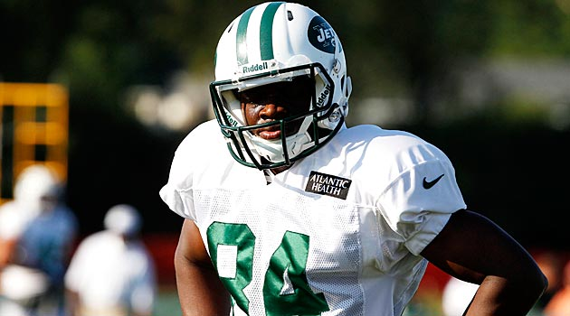 Stephen Hill's agent isn't happy with how the Jets treated the wide receiver. (USATSI)