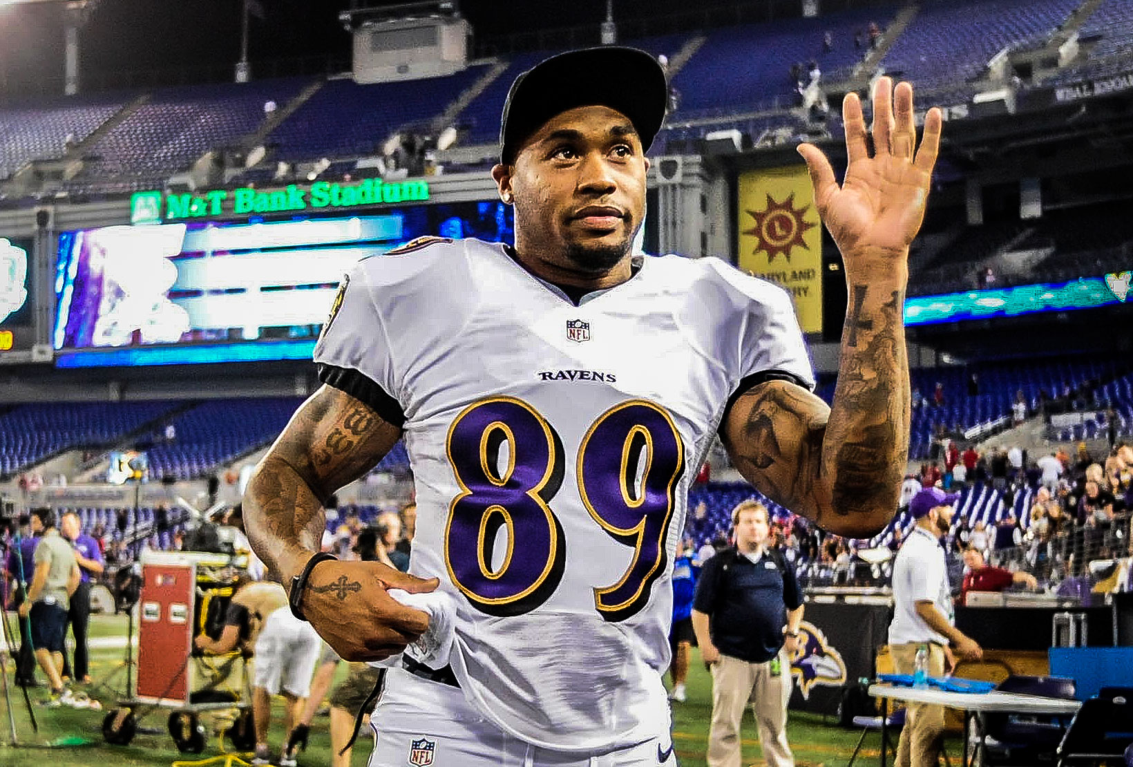 Steve Smith is excited to be with the Ravens. (USATSI)