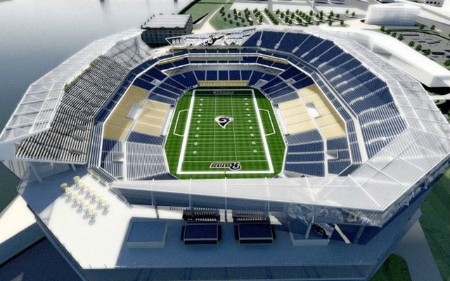 MO Lawmakers sue over Ram's stadium
