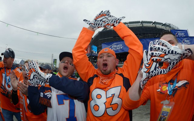 These fans apparently didn't have troubles with the transit. (USATSI)