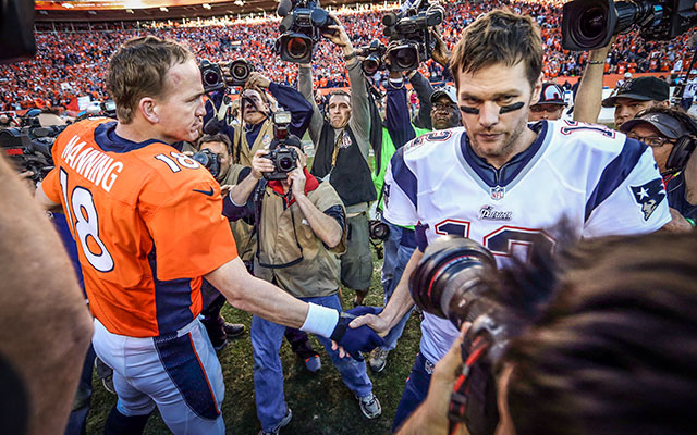 New Broncos CB Aqib Talib would take Peyton Manning over Tom Brady. (USATSI)