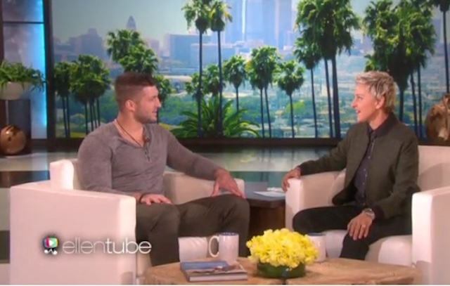 Tim Tebow: I'm 'Pulling For The Broncos' To Win Super Bowl
