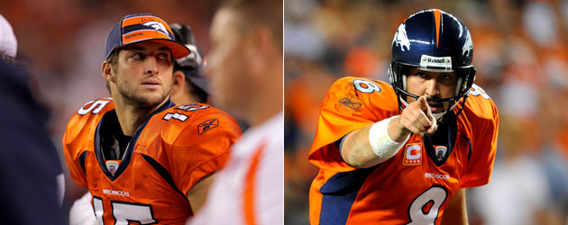 Orton and Tebow