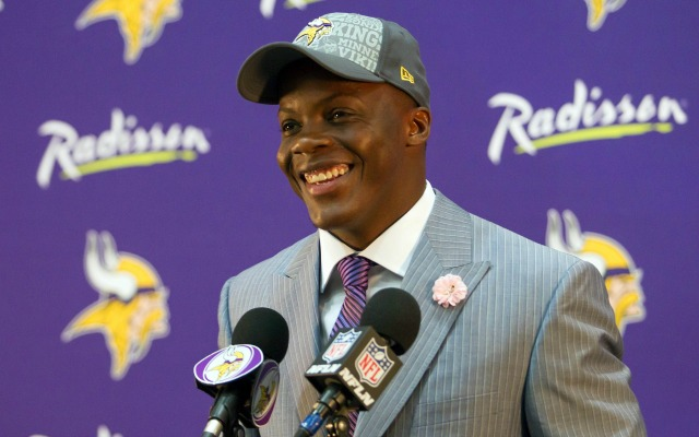 Teddy Bridgewater was happy to be drafted by Minnesota. (USATSI)