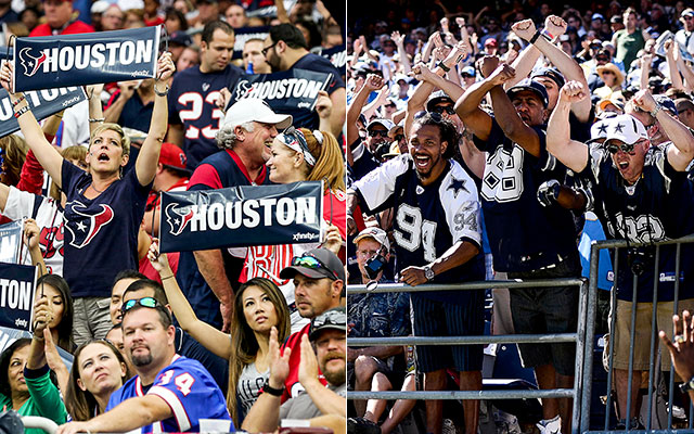 Houston, Dallas Police trade Twitter barbs ahead of Texans-Cowboys game