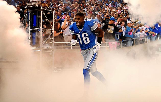 Titus Young was bonded out of jail on Thursday night. (USATSI)