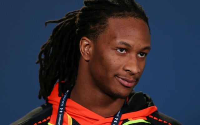 Todd Gurley's knee is at the center of speculation at the NFL Combine.