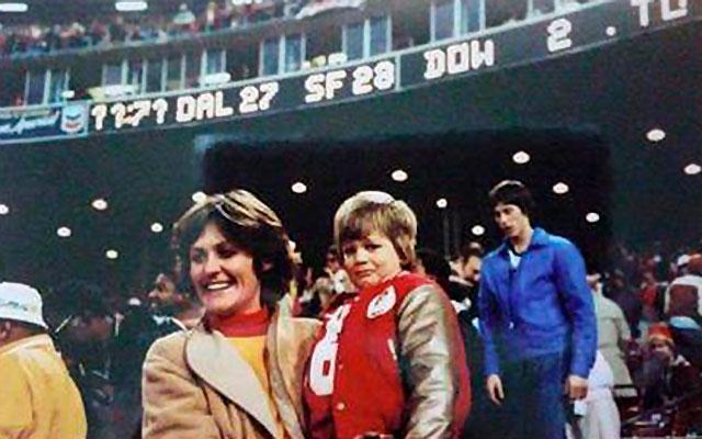 Tom Brady grew up a huge Joe Montana fan. (Facebook)