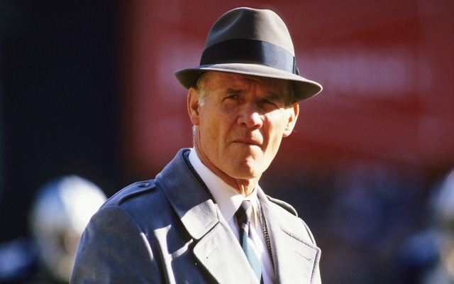 Tom Landry's teams played in five Super Bowls. (Getty Images)