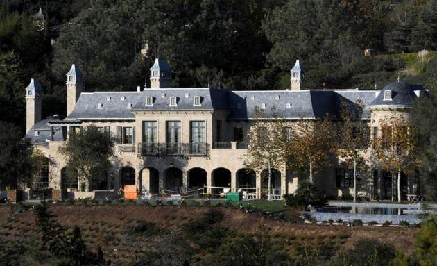 Brady's mansion