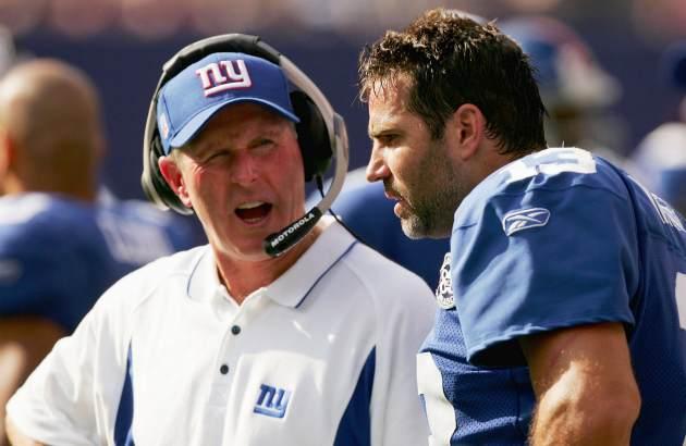 Kurt Warner and Tom Coughlin in 2004. (USATSI)