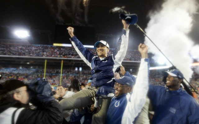 Tony Dungy might have a tough road ahead of him. (Getty Images)