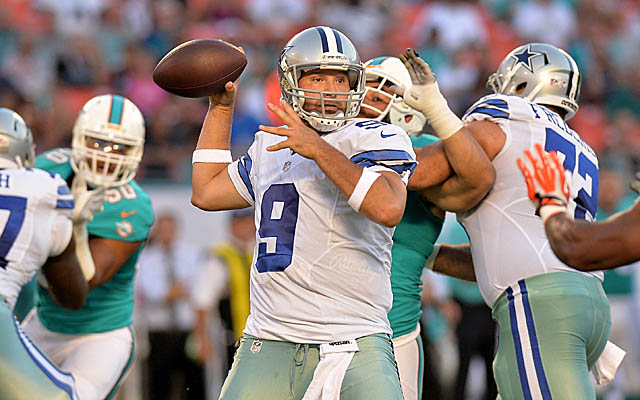 Will Tony Romo be able to raise the Cowboys from mediocrity? (USATSI)