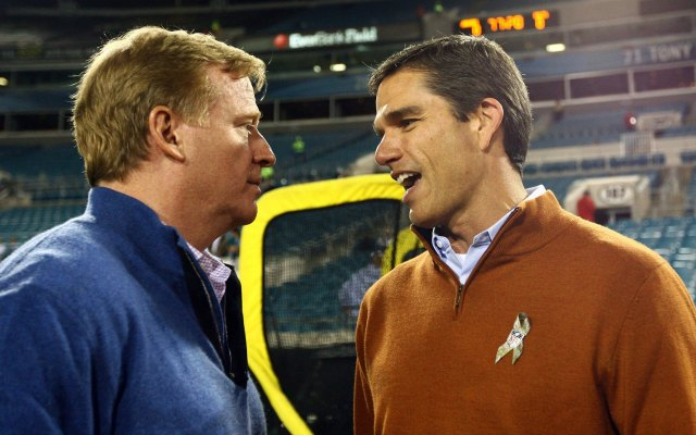 Trent Green, right, will join CBS Sports in 2014. (USATSI)