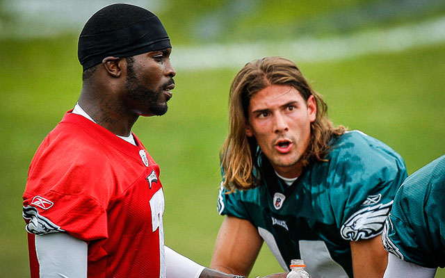 Michael Vick supported Riley Cooper after the WR was caught uttering a racial slur. (USATSI)