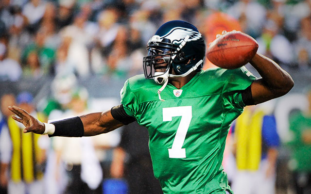 The Eagles' kelly green uniforms could return with one caveat. (USATSI, CBSSports.com)