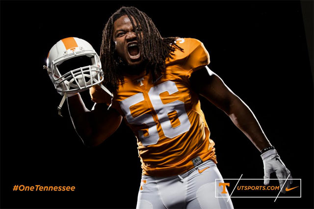 Look Tennessee Unveils New Nike Football Uniforms