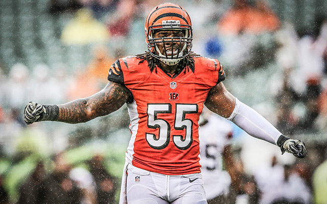Bengals Vontaze Burfict Suspended For First Three Games Of
