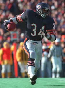 There were some shocking revelations made in a new book about Walter Payton (AP).