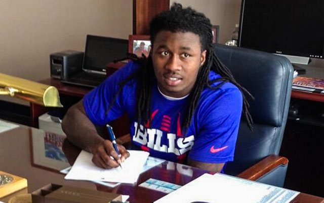 Sammy Watkins was the first wide receiver drafted earlier this month. (@BuffaloBills)
