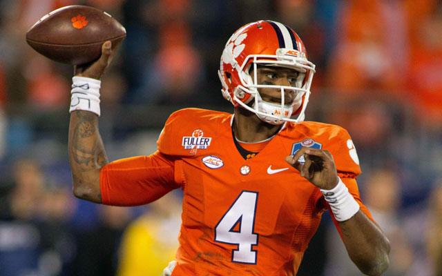 Deshaun Watson has overcome a lot in his life. Can he take down the Sooners, too? (USATSI)