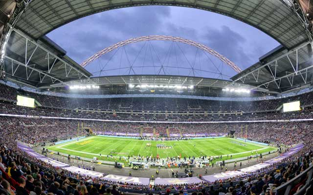 Wembley Stadium will play host to three NFL games next season. (USATSI)