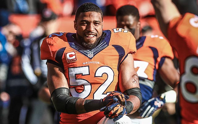 Wesley Woodyard is moving from Denver to Nashville. (USATSI)