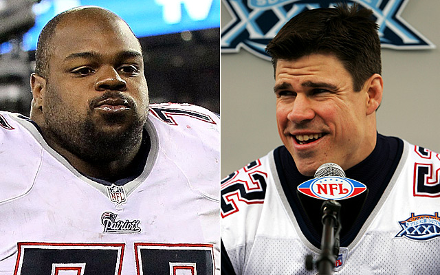 Wilfork wasn't super-pumped about Johnson's comments regarding his wife. (Getty Images)