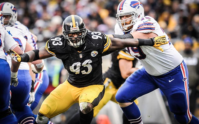 Jason Worilds and the Steelers are working on a long-term deal. (USATSI)