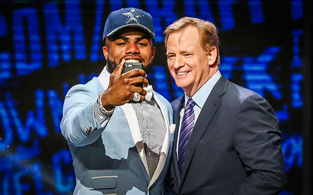 Zeke Elliott upgrades the offense, and by extension, the defense. (USATSI)