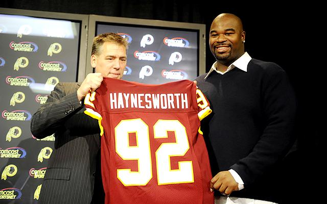 Albert Haynesworth isn't a big fan of the Redskins or their fans. (USATSI)