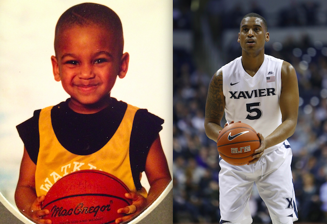 9857f69a4 Trevon as a youngster and earlier this season with the Musketeers.  (Bluietts USATSI)
