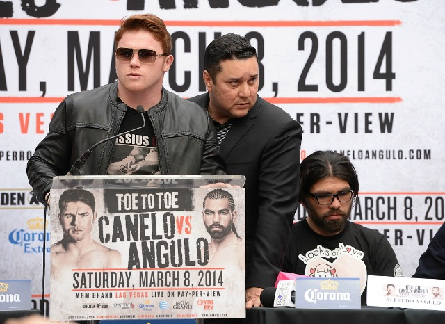 The Canelo-Angulo fight will be broadcast Saturday on Showtime PPV. (USATSI)