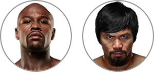 Mayweather vs. Pacquiao: Tale of the Tape