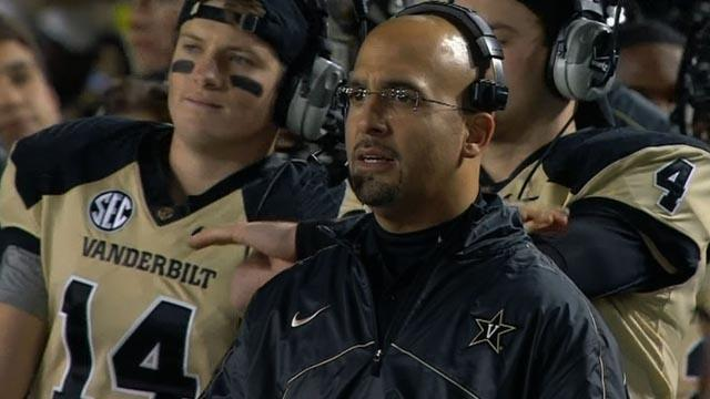 College Football: James Franklin talks Vanderbilt football
